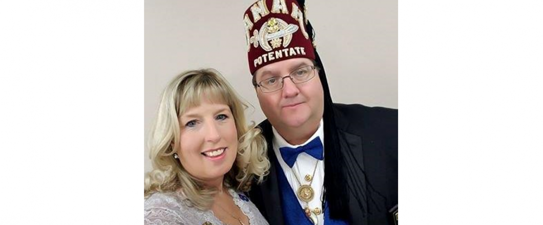 2018 Anah Shrine Potentate Brad Prout and Lady Shannon