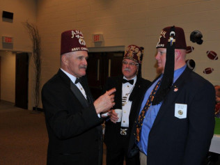 2015 Potentate's Party with Potentate Donald