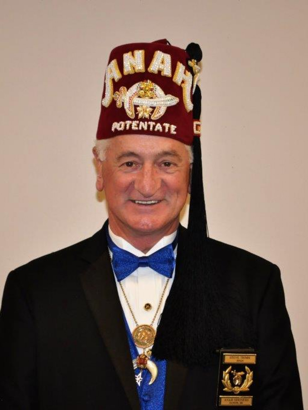 "<center> 2017 Potentate Stephen ""Steve"" Trimm"