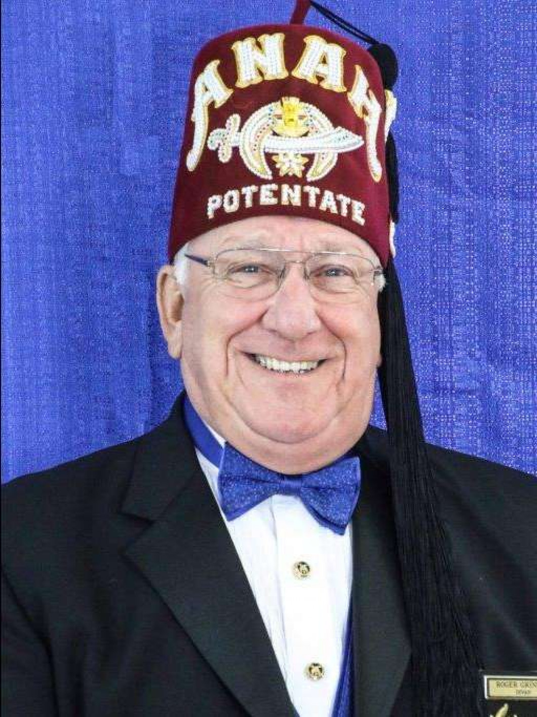 Illustrious Potentate Anah Shrine 2019 Sir Roger Grindle