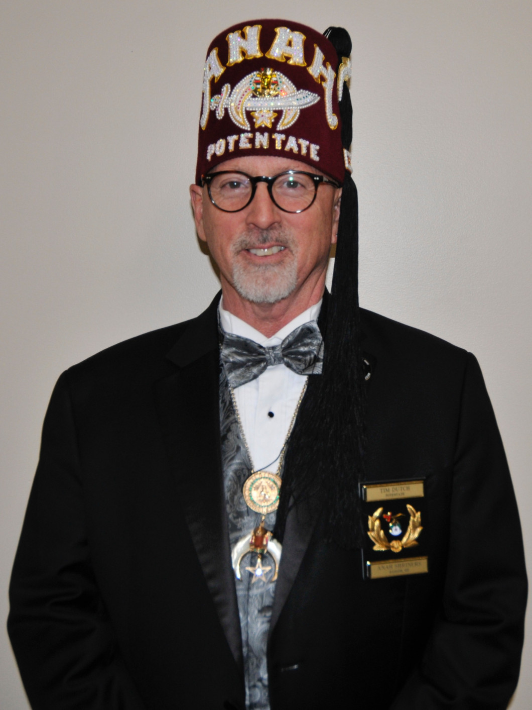 Illustrious Potentate Anah Shrine 2020 Sir Timothy Dryden Dutch