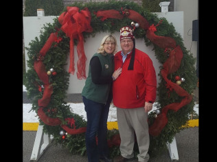 Potentate Brad Prout & First Lady Shannon